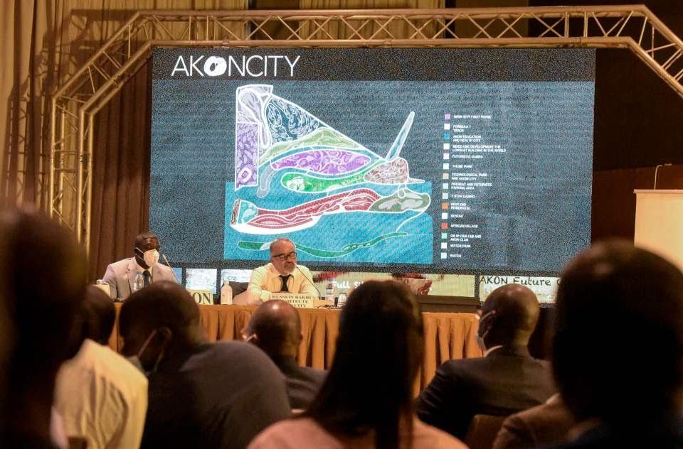 The futuristic city cost billions